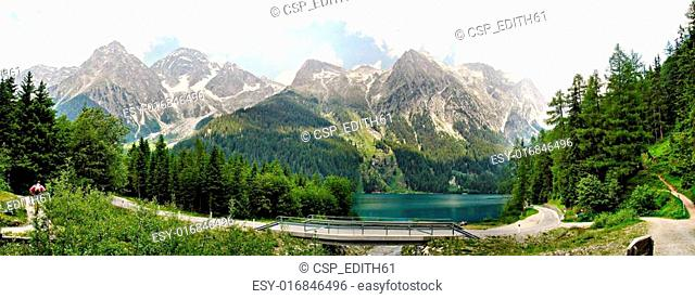 The Lake Anterselva, Italy