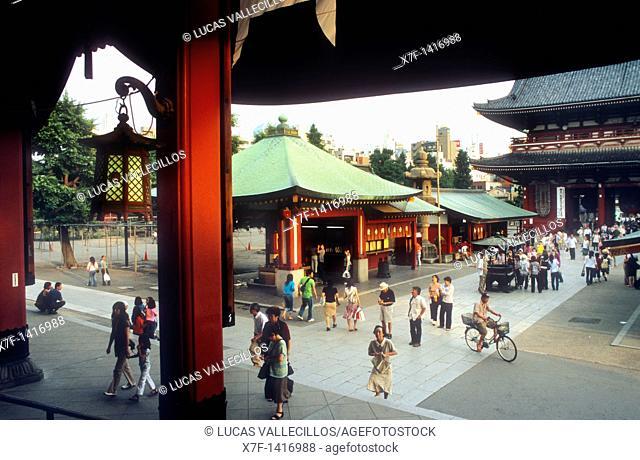 Asakusa Senso-ji Temple Tokyo city, Japan, Asia