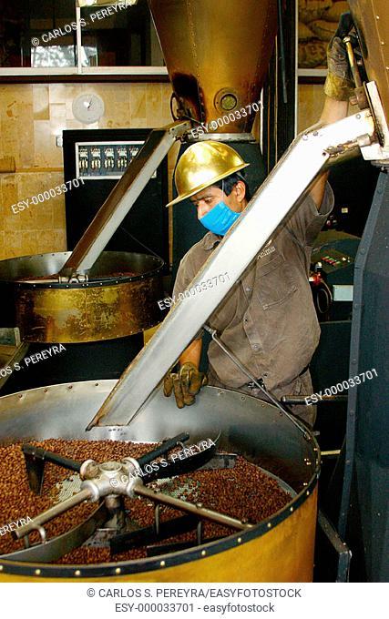 Coffee works. Veracruz, Mexico