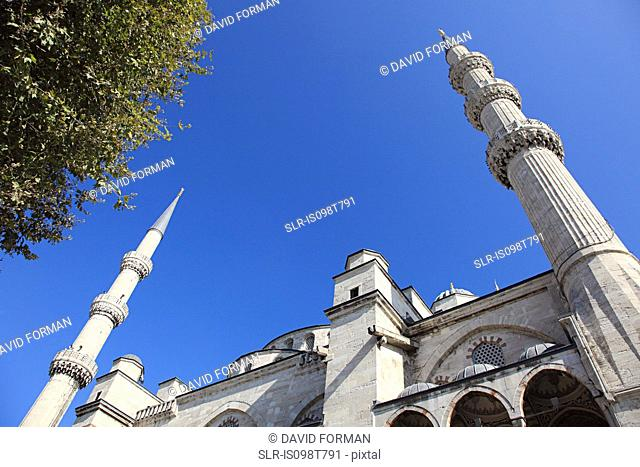Minarets of sultan ahmed mosque