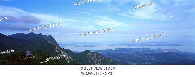 Poyang Lake in Jiangxi Lushan
