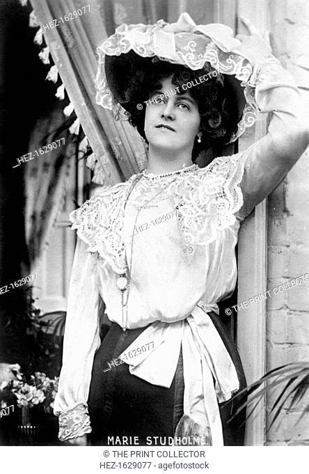 Marie Studholme (1875-1930), English actress, 1900s