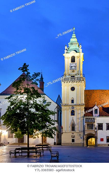 Old town hall, Bratislava, Slovacchia