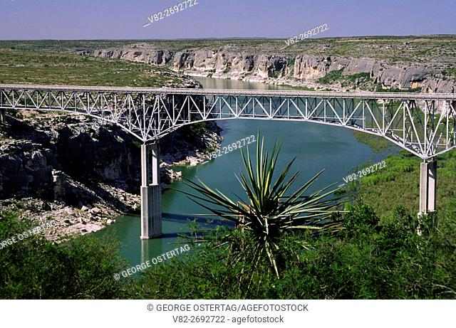 Pecos River High Bridge, Amistad National Recreation Area, Texas