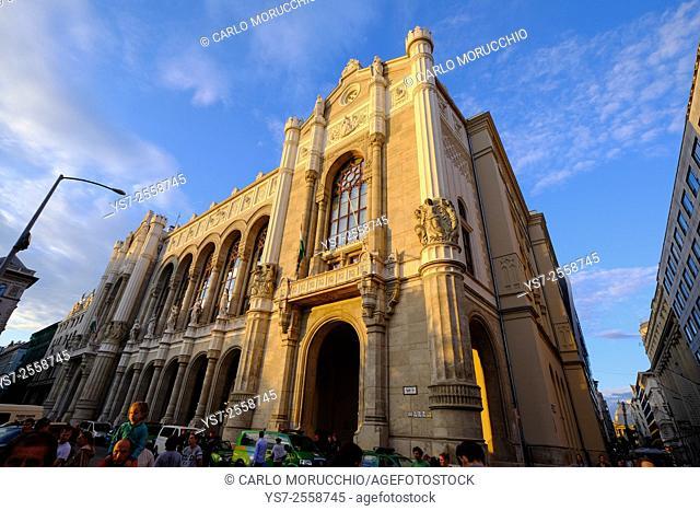 Vigadó Concert Hall, Budapest, Hungary, Europe