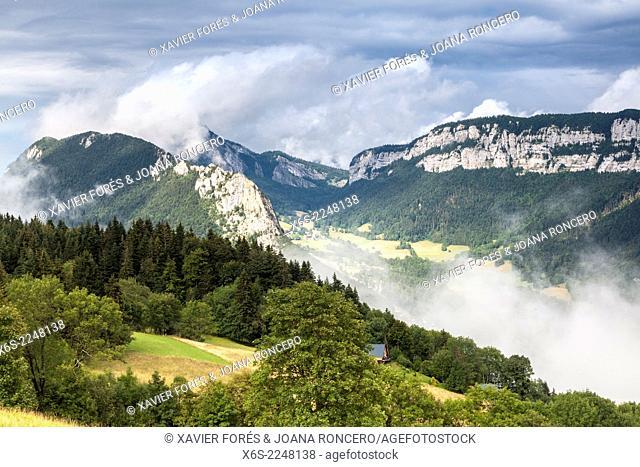 Around Saint Pierre d'Entremont, Parc Naturel de la Chartreuse, Savoie, Rhône-Alpes, France