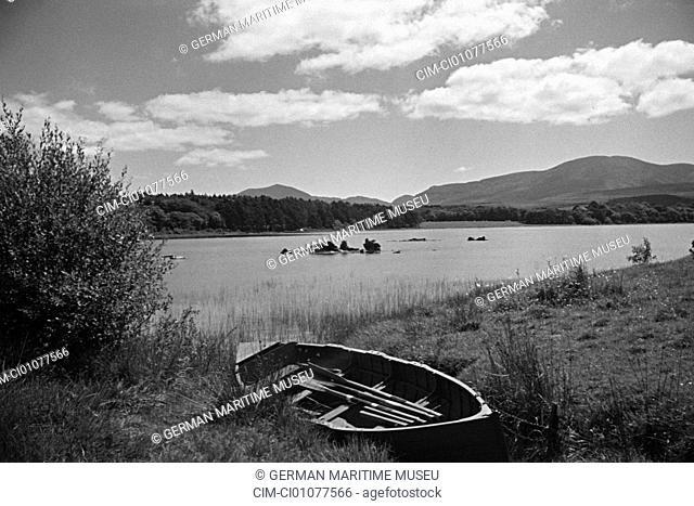 Ireland, Killarney, Killarney Nationally park, Killarneysee. Collection Hanns Tschira, photographer of the North German Lloyd 1930-1939