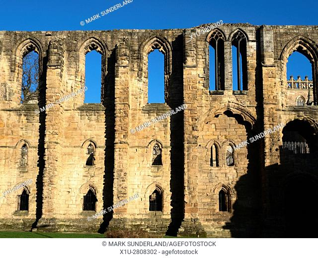 Refectory Ruins at Dunfermline Abbey and Palace Dunfermline Fife Scotland