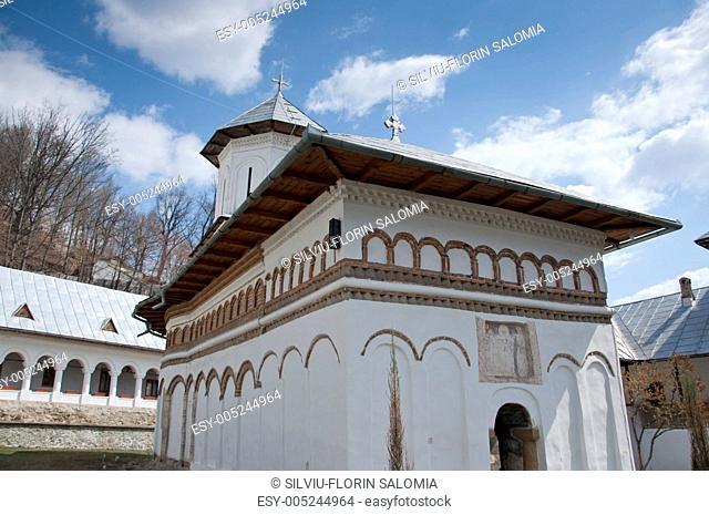 Church of an old orthodox monastery