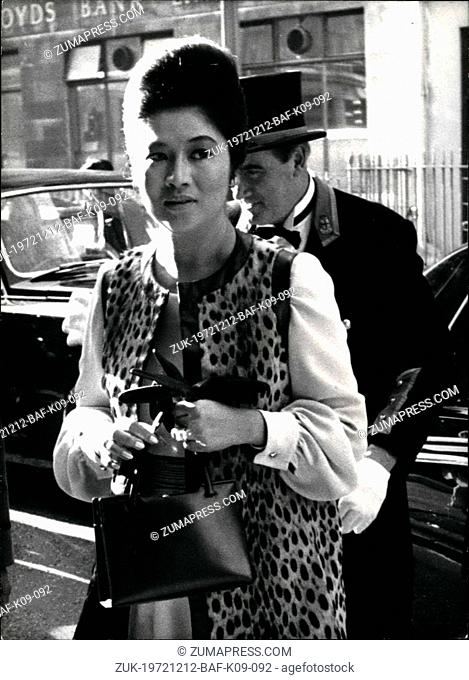 Dec. 12, 1972 - Wife Of The President Of the Philippines Is Stabbed; Mrs. Imelda Marcos, wife of Philippine President Ferdinand Marcos