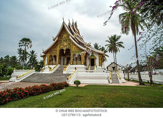 Luang Phrabang National Museum. Laos