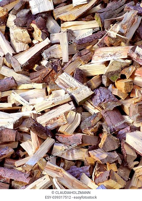 Image of a wood pile