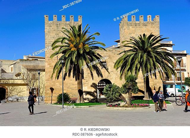 Town Gate, Alcudia, Mallorca, Spain