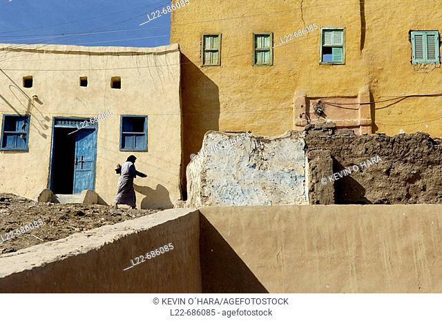 Nubian Village. Luxor area. Egypt