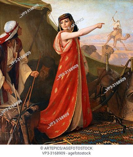 Gentz Karl Wilhelm - Woman at the Beduin Camp