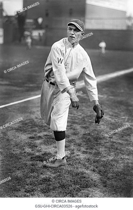 Joe Engel, Major League Baseball Player, Washington Senators, Harris & Ewing, 1913