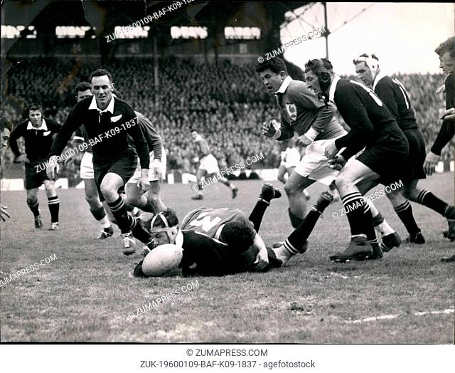 1968 - France Beats The All Black 3-0 In Paris: The Rugby International Between France and New Zealand was played at the State Colombe Paris today with a 3-0...