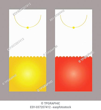 vector background card design business bevel semicircle Curved linear color Yellow red gold