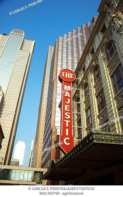 Theatre. Dallas. Texas. USA