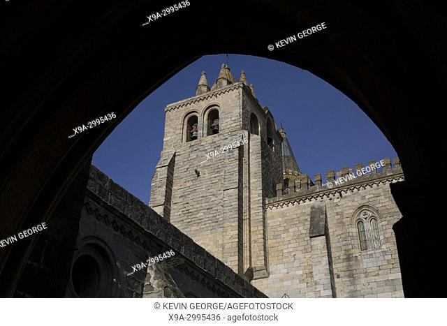 Cathedral Tower at Evora; Portugal