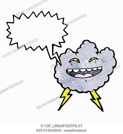 thundercloud cartoon character