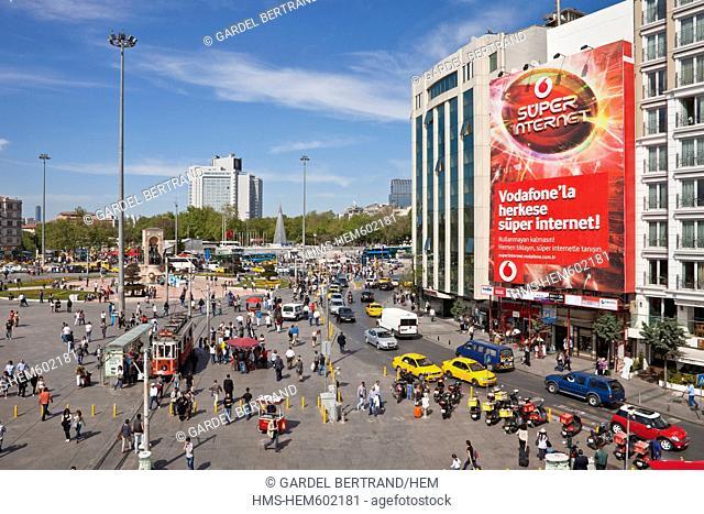 Turkey, Istanbul, Taksim district, Orthodox Church of the Holy Trinity or Agia Triada Kilisesi