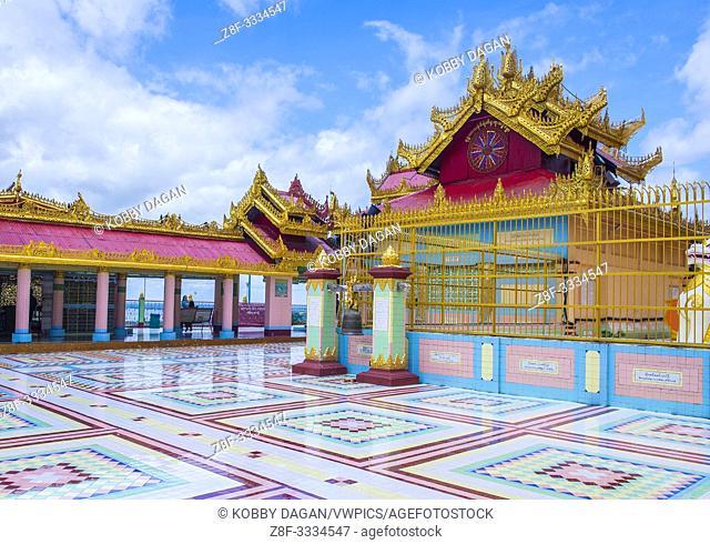 Sagaing hill Pagoda in Myanmar