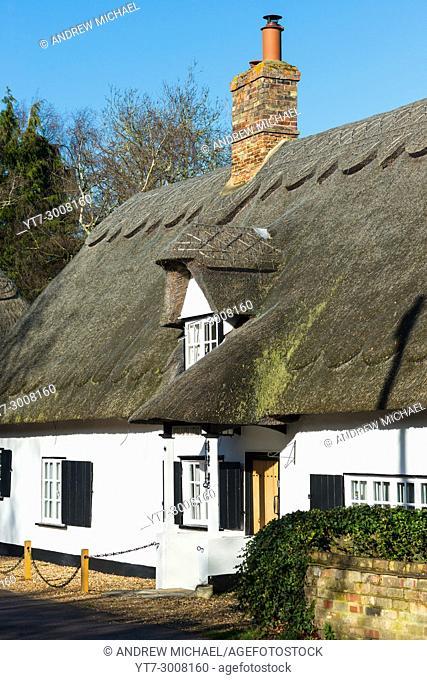 Boot and Slipper Cottage, Common Lane , Hemingford Abbots, Cambridgeshire, England, UK