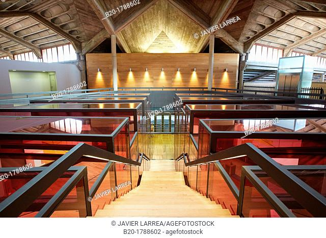 Reception, Olarra winery, Rioja, Logroño, Spain