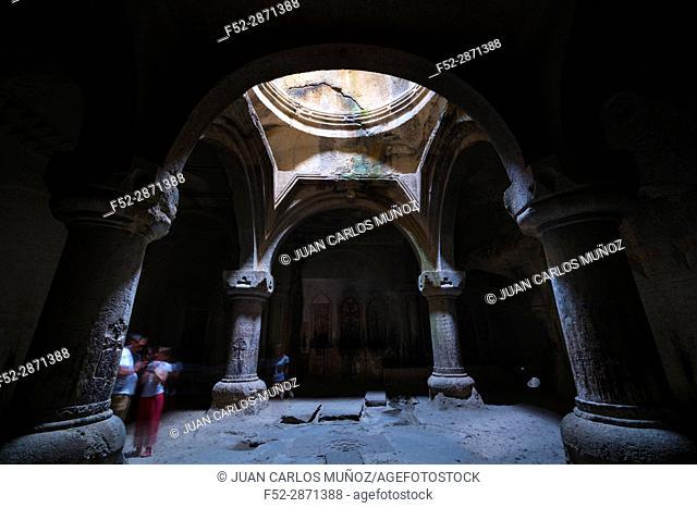 Geghard Monastery, Kotayk Province, Armenia, Middle East, UNESCO World Heritage Site