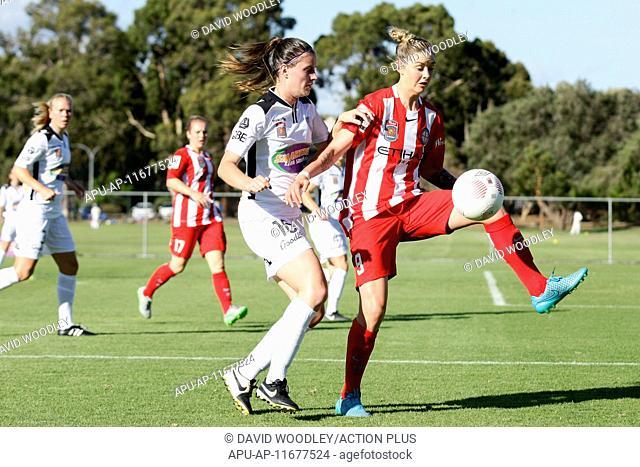 2015 Westfield W-League Football Perth Glory v Melbourne City Oct 31st. 31.10.2015, Perth, Australia. Westfield W-League, Round 3