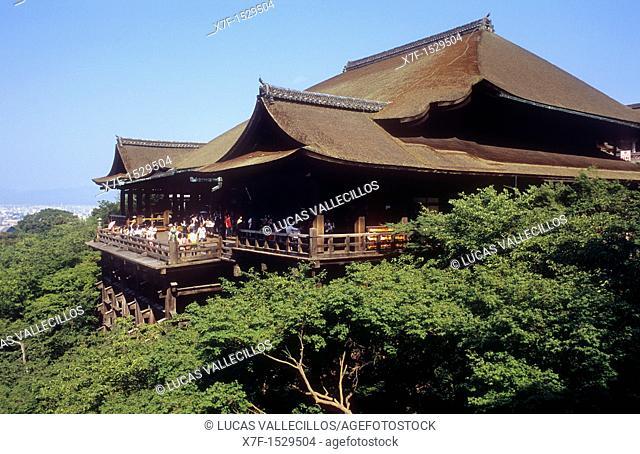 Kiyomizudera temple,UNESCO World Heritage Site,Kyoto, Japan