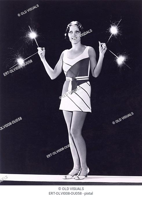 Sparks flying (OLVI008-OU058-F)