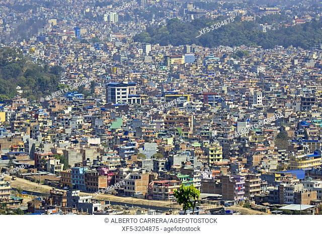 Cityscape, Kathmandu, Nepal, Asia