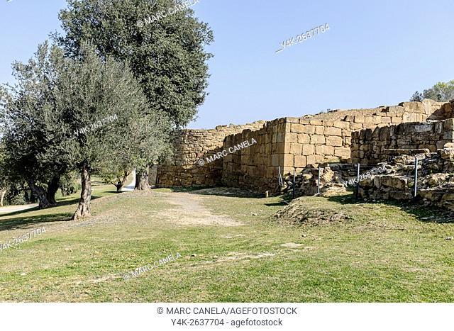Iberian settlement, Ullastret, Girona province, Catalonia, Spain
