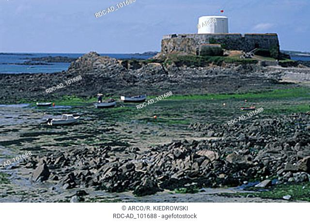 Fort Grey shipwreck museum Guernsey Channel Islands Great Britain