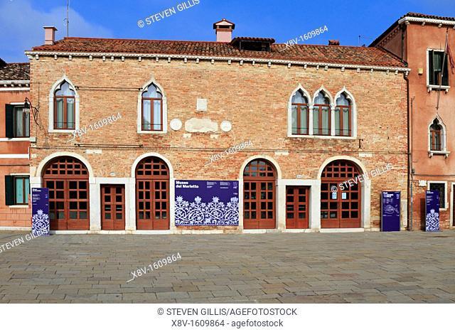 Museo del Merletto, Lace Museum, Burano, Venice, venito, Italy, Europe