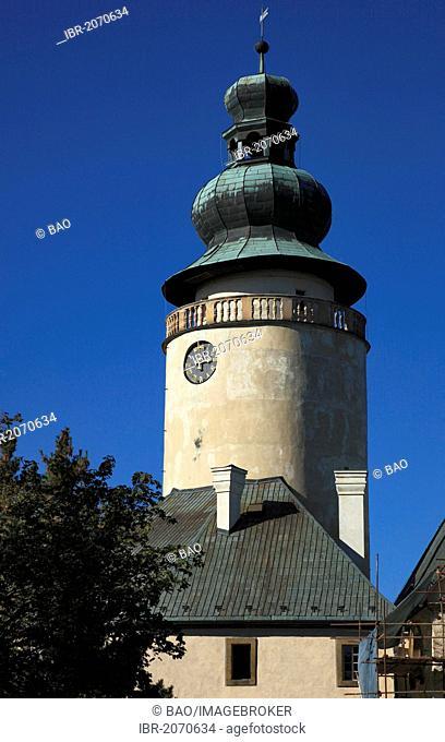 Lemberk Castle near Jablonne v Podjestedi, Liberec district, North Bohemia, Bohemia, Czech Republic, Europe