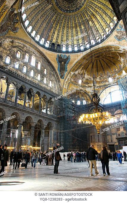 Hagia Sophia, Istanbul, Turkey