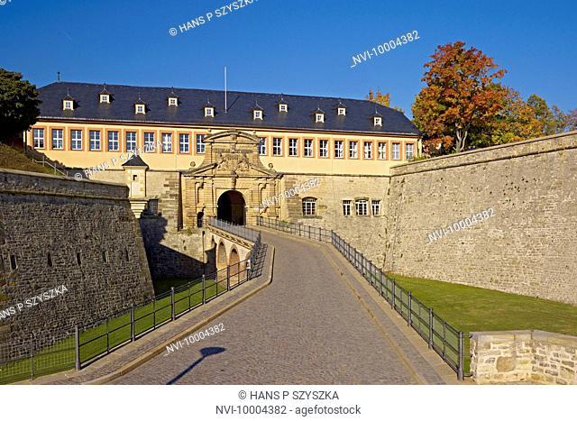 Petersberg Citadel, Erfurt, Thuringia, Germany