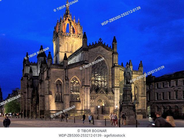 UK, Scotland, Edinburgh, St Giles' Cathedral