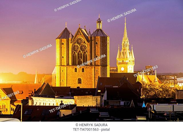 Brunswick Cathedral Braunschweig (Brunswick), Lower Saxony, Germany