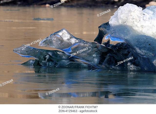 Getschereis des Kennicott und Root Gletschers