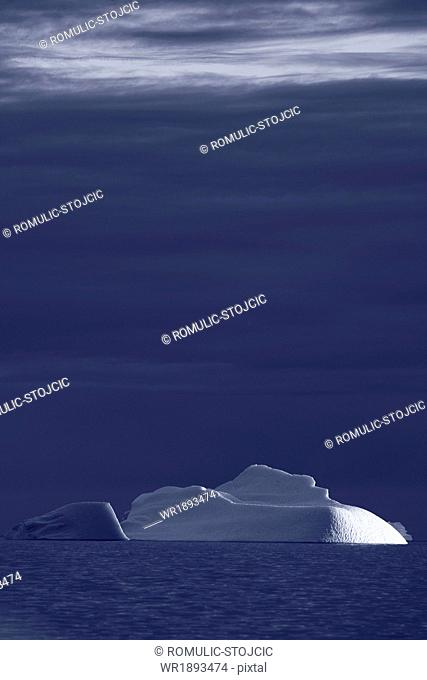 Iceberg in Arctic Ocean, Greenland