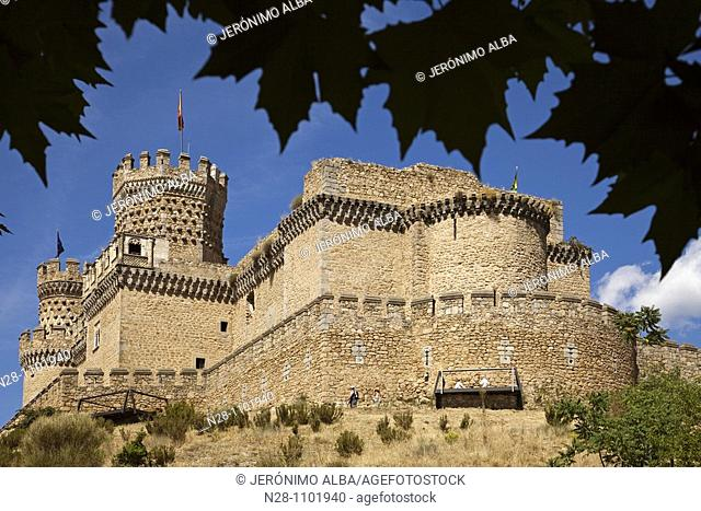 Castillo de los Mendoza. Manzanares El Real, Madrid, Spain