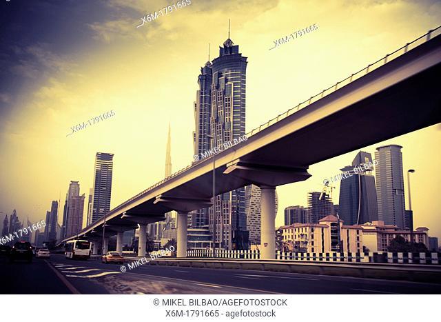 Dubai city  Jumeirah area  Dubai  United Arab Emirates