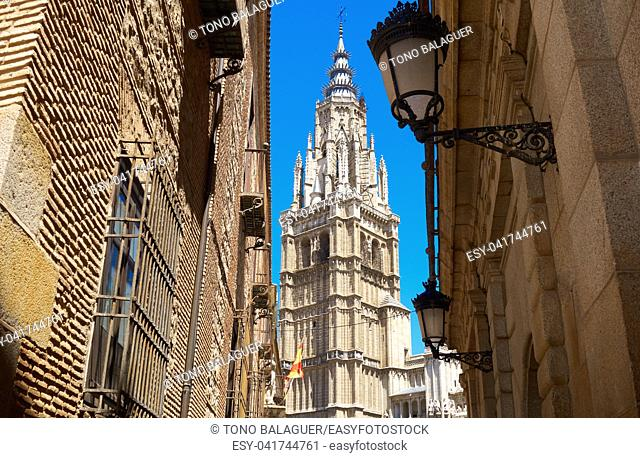 Toledo Cathedral in Castile La Mancha of Spain