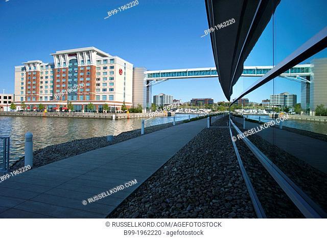 Bayfront Convention Center And Sheraton Hotel Presque Isle Bay Erie Pennsylvania Usa