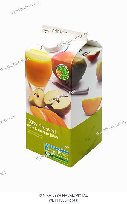 Pure Juice carton box