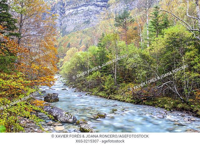 Ordesa Valley, National Park of Ordesa and Monte Perdido, Huesca, Spain